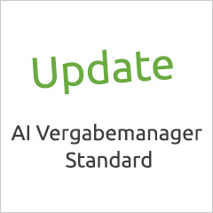 AI Vergabemanager als Standardlösung - Update am 7.7.2017