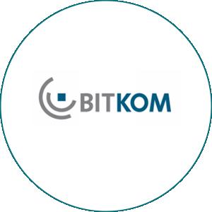 Logo BITKOM - Partner von evergabe.de