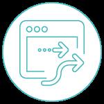 Icon elektronische Auftragsvergabe