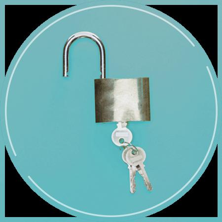 Türschloss mit Schlüssel - evergabe.de