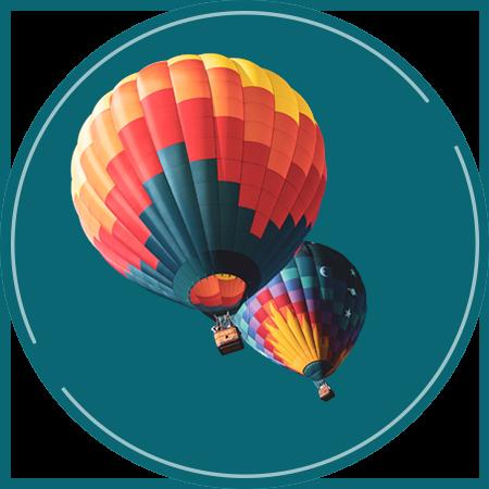 Heißluftballon - Seminare zum Vergaberecht