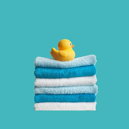 Ente mit Handtüchern - evergabe.de